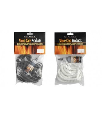 9mm White Standard - Stovax Rope Pack 7021